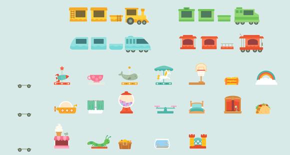 Trains: Train Cars
