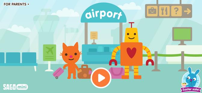 Airport: Titlescreen