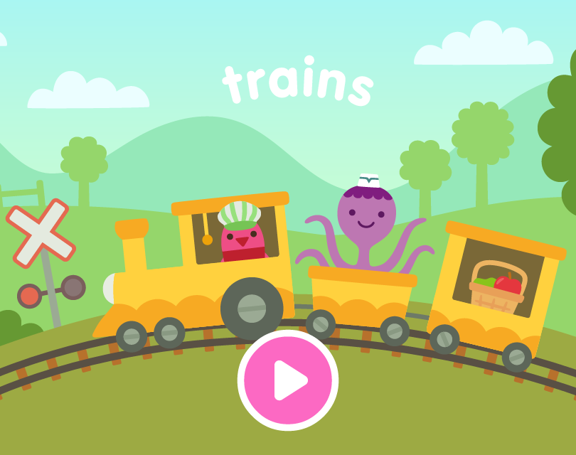 Trains: Title Screen