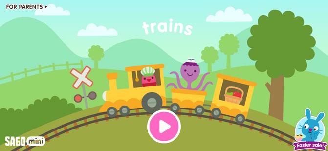 Trains: Title Screen