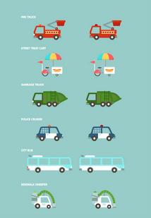 Big City: Vehicles