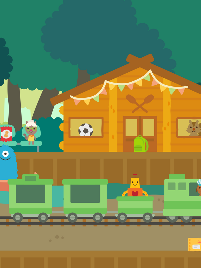 Trains: Campground Station