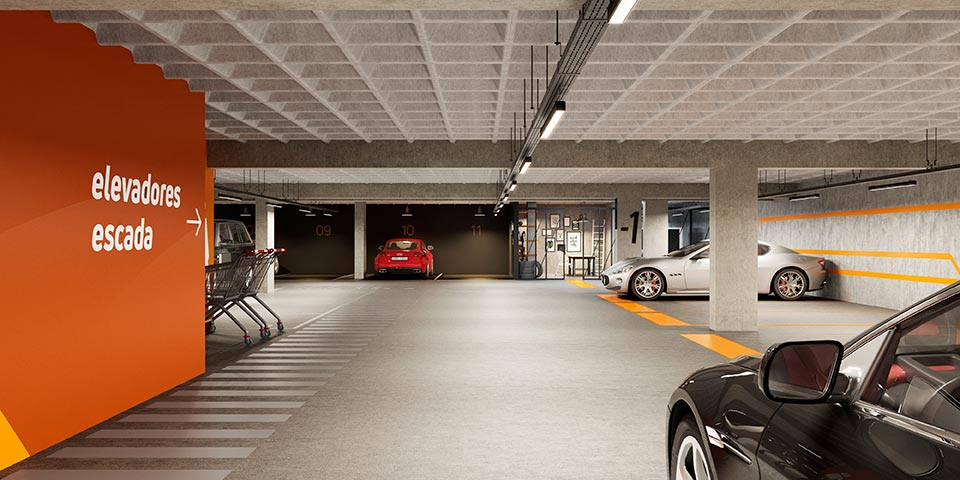 Parking e workshop