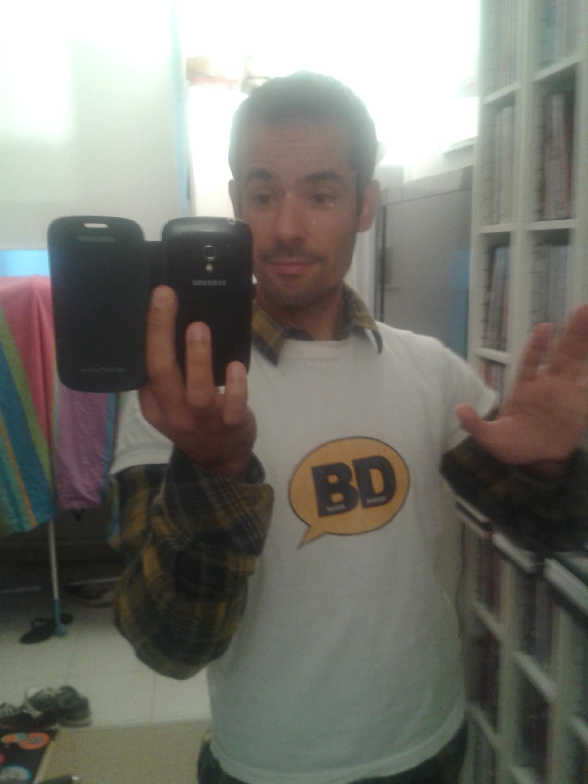 le chorégraphe en t-shirt