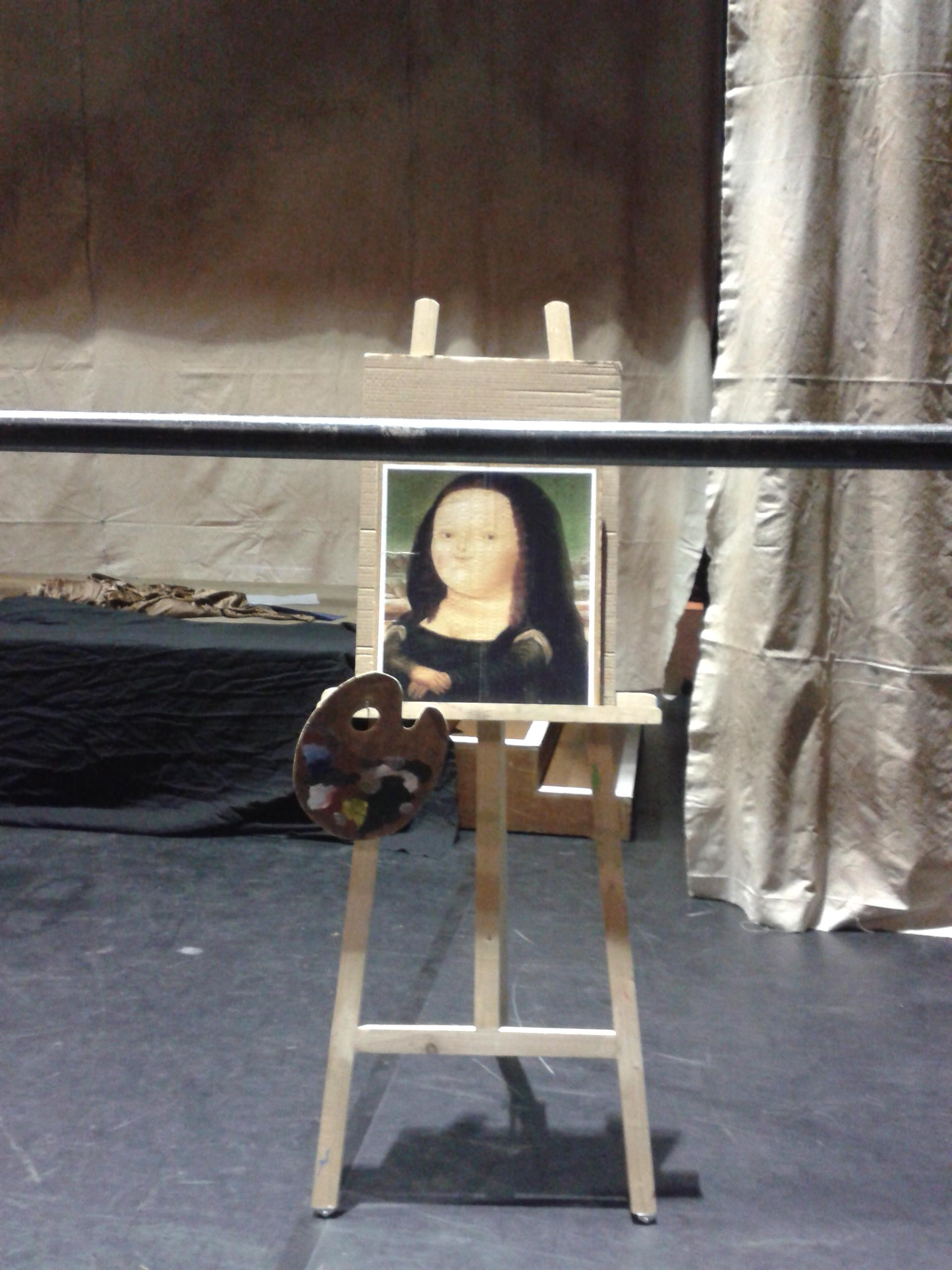Mona Lisa avant le régime