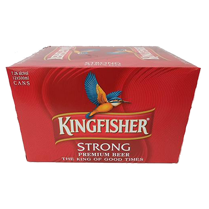 KINGFISHER 12PK 7% 500ML CANS