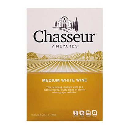 CHASSEUR MEDIUM WHITE 3L