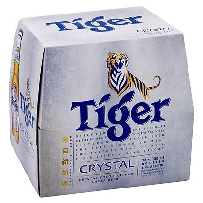 TIGER CRYSTAL 12PK BTLS