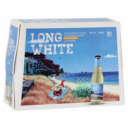 LONG WHITE PASSION 10PK BTLS