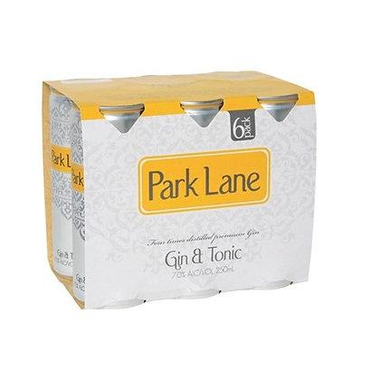 PARK LANE GIN & TONIC 4X6PK 250ML CANS