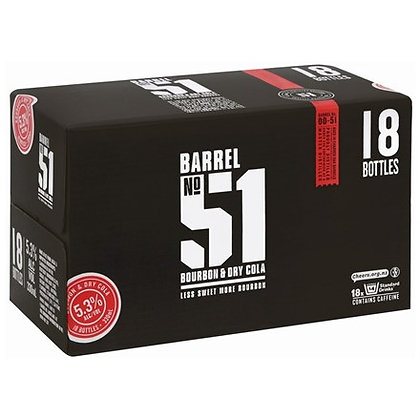 BARREL 51 18PK BTL