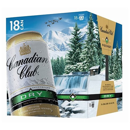 CANADIAN CLUB DRY 18 PK CAN