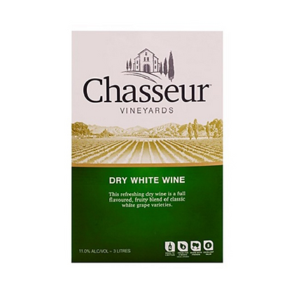 CHASSEUR DRY WHITE 3L