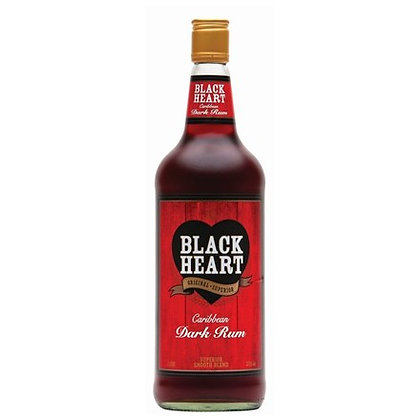 BLACK HEART RUM 1 LTR