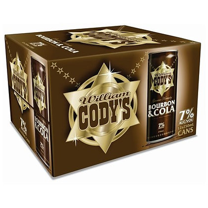 CODYS 7% 12PK 250ML CANS