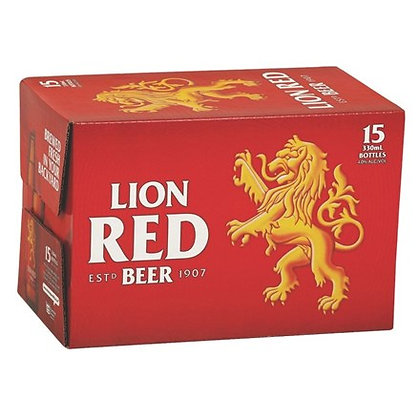 LION RED 15PK