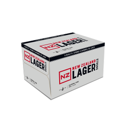 NZ LAGER 7% 12PK 500ML CAN