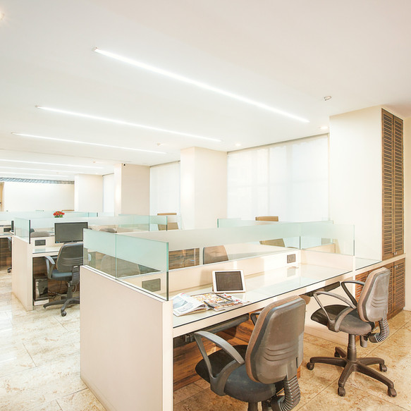 Contemporary corporate office