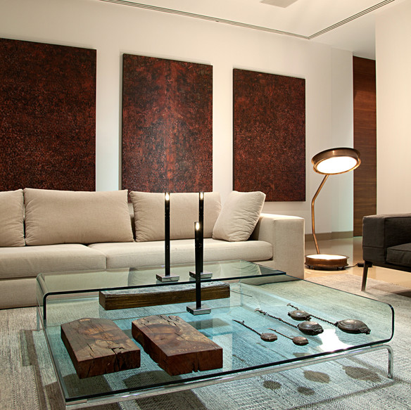 Eclectic luxury duplex