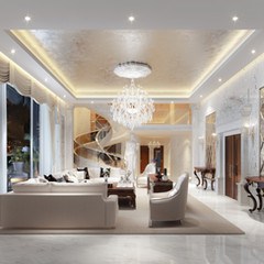 Neoclassical penthouse