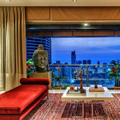 Vibrant luxury apartment