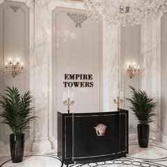 Neo-renaissance grand lobby