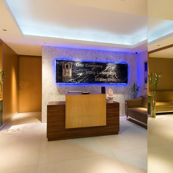 Elegant corporate office