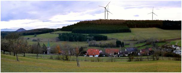 Visualisierte Aussicht Stetten Panoramaweg
