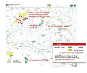 Windpotentiale - Ministerium für Umwelt