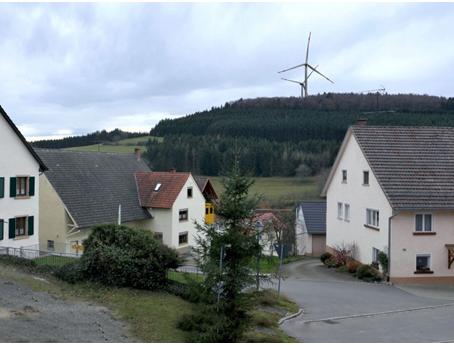 Bau von Windrädern am Hegaublick