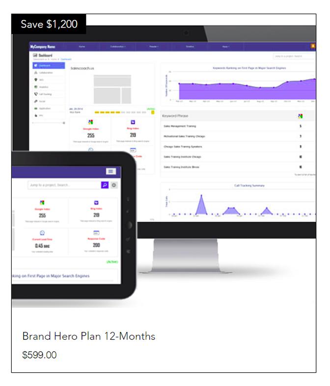 12-month Brand Hero
