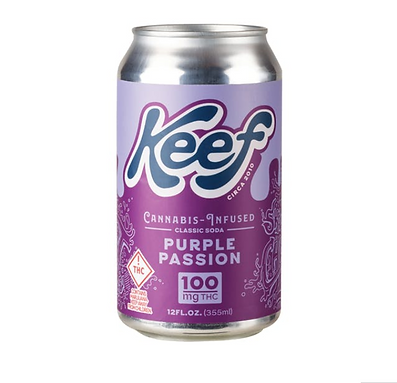 Keef Purple Passion Grape Soda