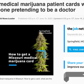 🛑 Fake MMJ MD in MO: 600 Patients 💰 Investigation Launched DHSS and AG