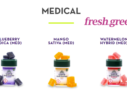 Edibles Are Back @ fresh.green Dispensary + Buy 3 Get 1 Free Lemon Royale Flower!
