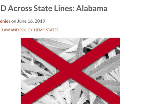 Alabama: Hemp and CBD Laws