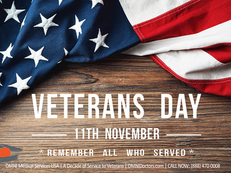 OMNI Medical Services: Thanks to our Military Veterans for your Service!