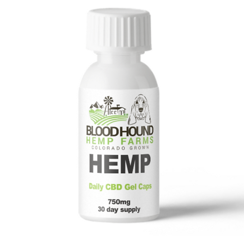 Gel Caps Hemp CBD