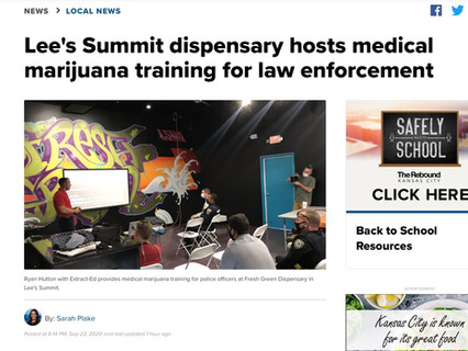 fresh.green Protects Patients with Medical Marijuana Training for Police Officers