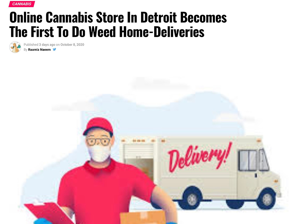 Companies are taking advantage of new opportunities for cannabis deliveries in Michigan!