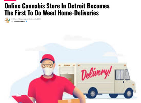 Breaking Michigan: Marijuana Delivery for Free within 1 Hour?