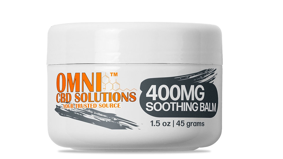 OMNI CBD Balms Hemp Full Spectrum 400mg
