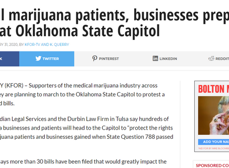 Medical Marijuana Groups March on Capital to Defend State Question 788