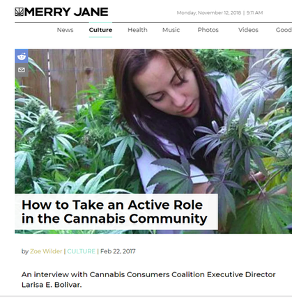 As Seen on Mary Jane with Larisa Bolivar