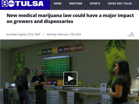 Video: New Medical Marijuana Laws Impact Oklahoma Growers Dispensaries and Patients