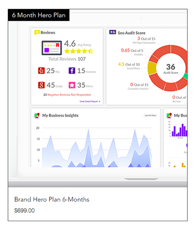 6-month Brand Hero