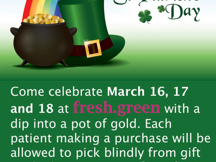$10-$420 Gift Card St. Patrick's Day Giveaways