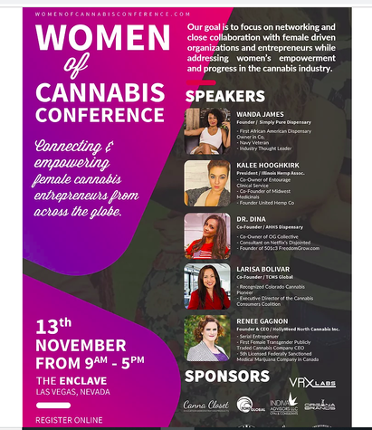 As Seen on Cannabis Women with Larisa Boliver