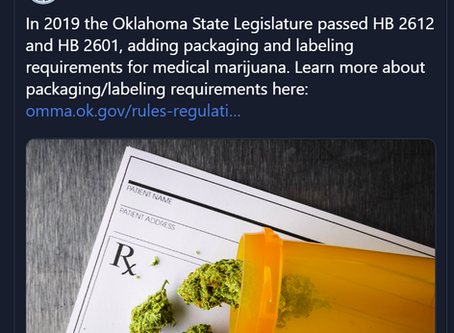 OK: No Labs Licensed to Test Medical Marijuana - but Law Requires Proof of Testing?
