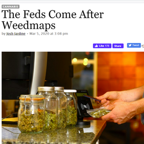 💥Warning: Feds Go After WeedMaps Data