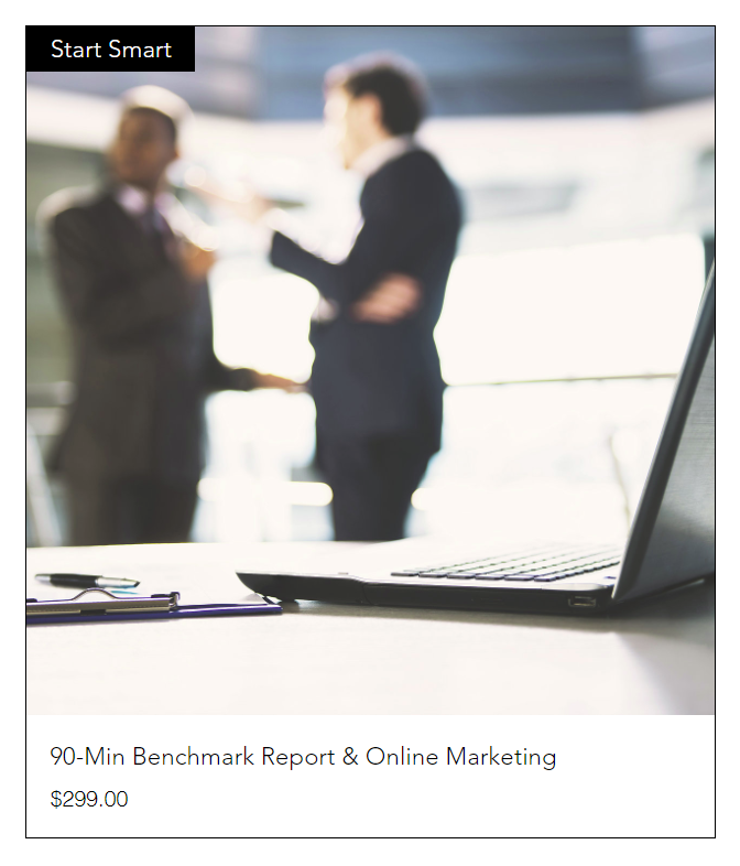 90-Min Benchmark Report + Online Marketing